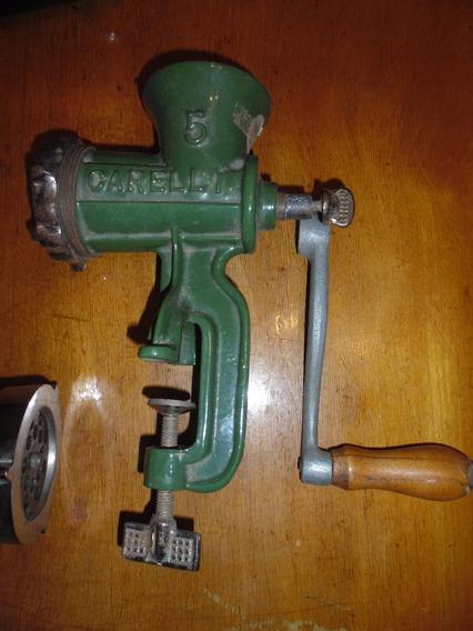 Maquina Picadora Antigua N5 - Hierro De Fundicion