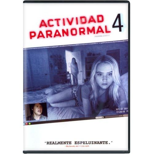 Actividad Paranormal 4 Cuatro La Pelicula En Dvd
