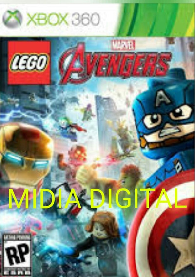 Midia Digital Marvel Lego Vingadores 25 Digitos