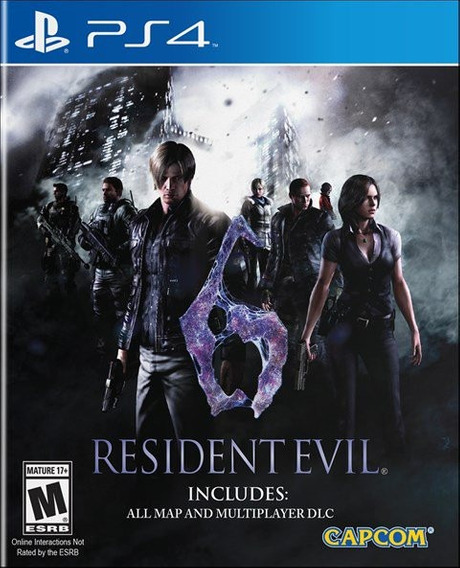 Resident Evil 6 - Ps4 - Mídia Física - Novo