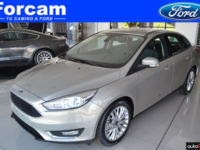 Ford Focus Sedan 2.0 Se Plus At 0km Tasa Fija Forcam Gf