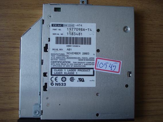 Rc-10545 Drive Gravador Cd/dvd Teac Dw-224e