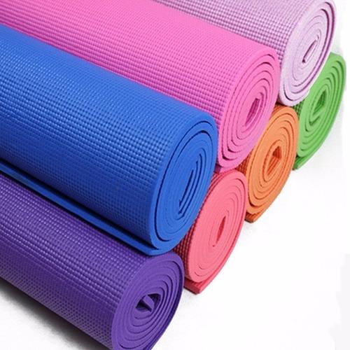 Colchoneta Yoga Mat Enrollable Mas Bolso