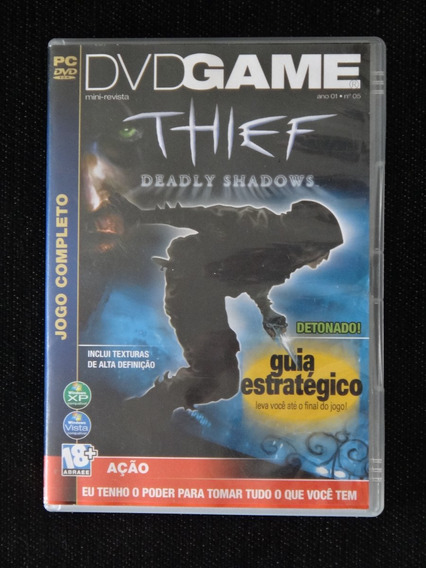 Jogo / Game: Thief Deadly Shadows - Pc - Caixa Original !!!