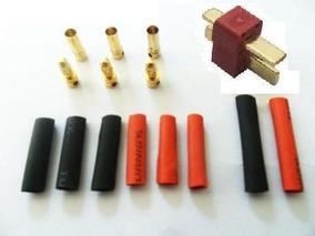 Kit Conectores Esc+ Motor+ Bat+ Retrát+ Deans Original