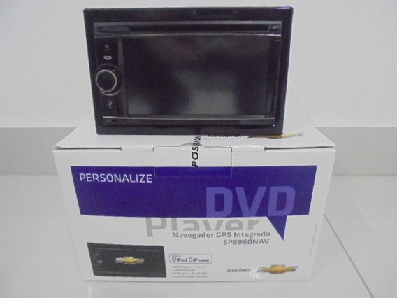 Dvd Player Com Gps E Tv Digital Integrado