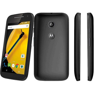 Smartphone Moto E (2ª Geração) Preto Com 4g, 8gb, Dual C...