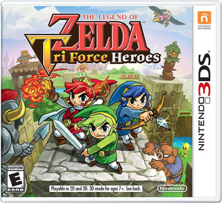 The Legend Of Zelda Triforce Heroes - 3ds Fisico