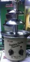 Imagen 1 de 3 de Fuente Pileta De Chocolate Chocolatera 3 Niveles De Acero Al