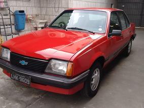 Chevrolet Monza Sl/e 1984 4 Portas Placa Preta