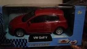 Miniatura Vw Golf G5 Abre Portas / Pneus De Borracha Novo !