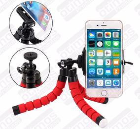 Tripé Flexível Selfie Gopro TriPod Suporte + Controle Selfie