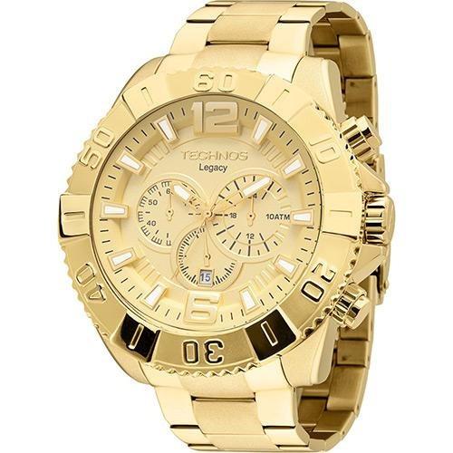 Relógio Technos Masculino Analogico Os20ib/4x-dourado