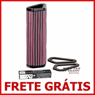 Filtro Ar Kn K&n Esportivo Du-1007 - Ducati 848 1098 1198 Evo Diavel