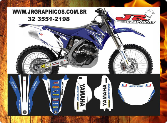 Kit Graficos Wr 250f Todos Os Modelos E Anos!!!!!!