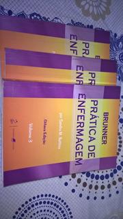 Livro Bruner Pratica De Enfermagem 8° Edição 3 Volumes