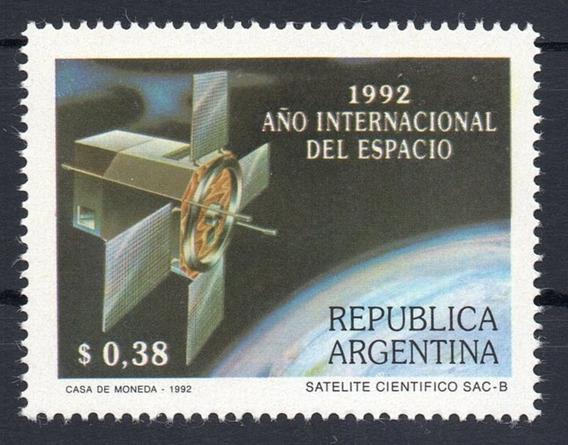 Argentina 1992 Gj 2633** Mint Espacio Satélite Cosmos A