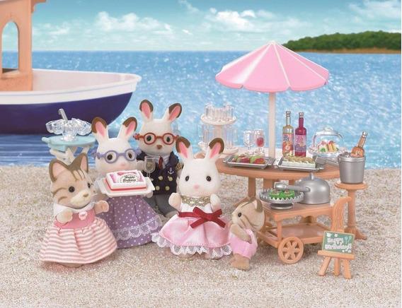 Sylvanian Families Festa Na Praia 5207 -