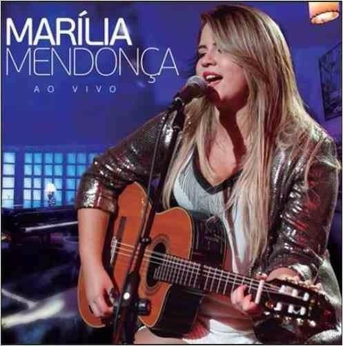 Cd Marília Mendonça Ao Vivo - Original E Lacrado - Sertanejo