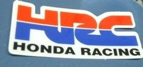 Adesivo Resinado Alto Relevo Honda Hrc Repsol Carenagem Moto