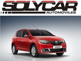 Renault Sandero Entrega Inmediata!!! Solycar