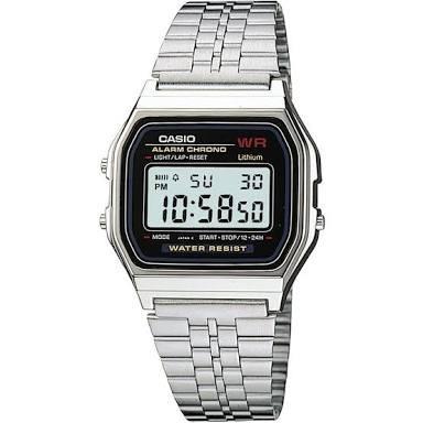 Relógio Casio Vintage Prateado A159wa-n1df Original