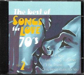 Cd The Best Of Songs For Love 70