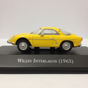 Miniatura Willys Interlagos Carros Inesquecíveis Brasil