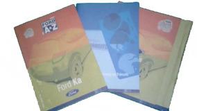 Manual Proprietário Ford Ká, 08 09 10 11, Original Em Branco