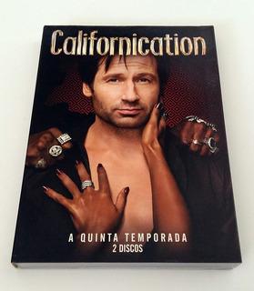 Dvds Originais Série Californication - 5a Temporada Completa