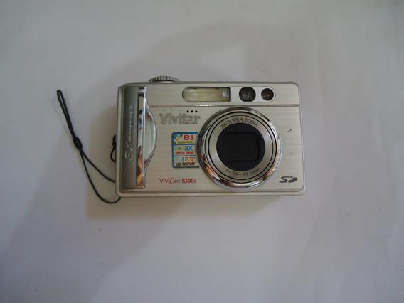 Câmera Vivitar Vivicam - Não Vai Bateria E Carregador