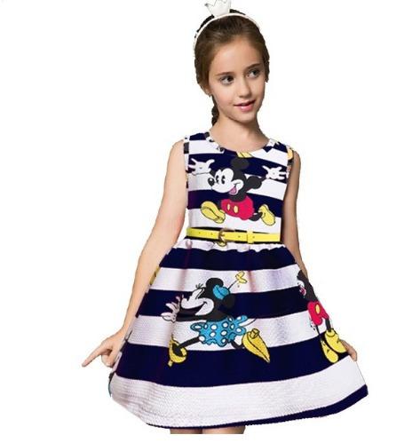 Vestido Menina Infantil Minie