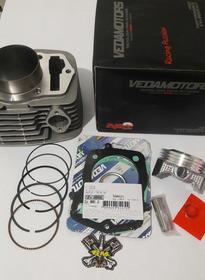 Kit Cilindro Do Motor Com Anéis Vedamotors Crf230 Para 240cc