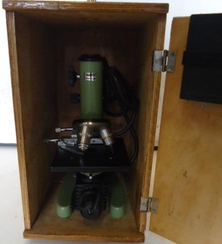 Antigo Microscópio Kemp 1600 Xsp -06 (3)