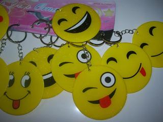 Llaveros Souvenirs Emoticones X 12u
