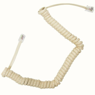 Cable Tel Auricular 2.1m Marfil 46075 Voltech.