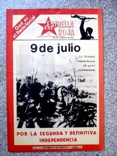 Estrella Roja N° 22 - Erp - Colección Infobae - L40