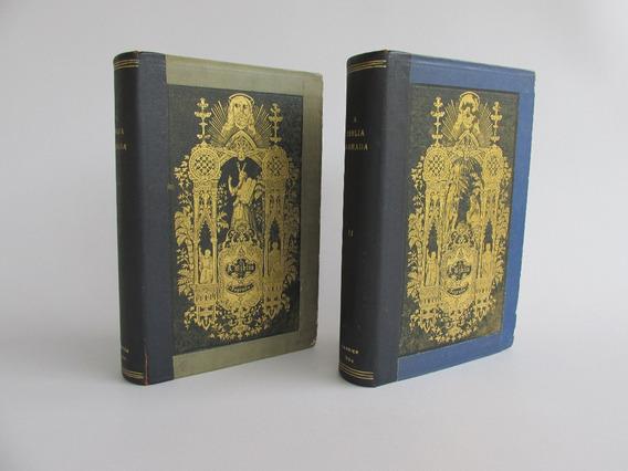 Biblia Antiga 1 Edição De 1864 Em Portugues Pad. Figueiredo