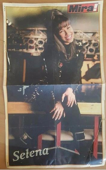 Poster Selena Quintanilla Perez
