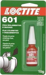 Cola Adesivo Fixa Rolamentos Buchas Loctite 601 10gr 284493