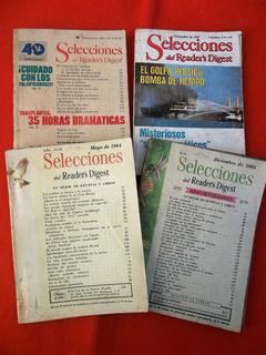 Selecciones Readers Digest 1964/65 Lote De 4 Revistas Y 1980