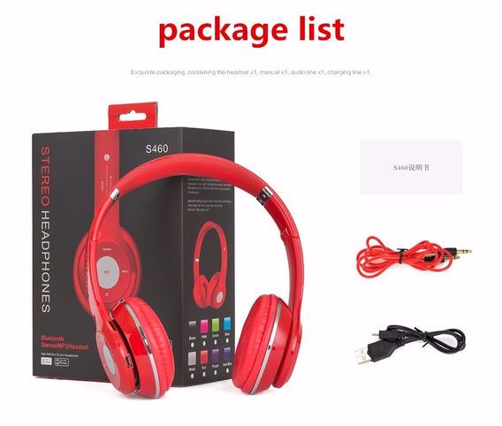 Fone De Ouvido Headphone Bluetooth Fm Mp3 Alta Qualidade
