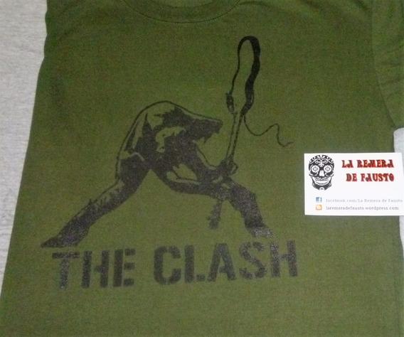 Remeras The Clash (la Remera De Fausto)