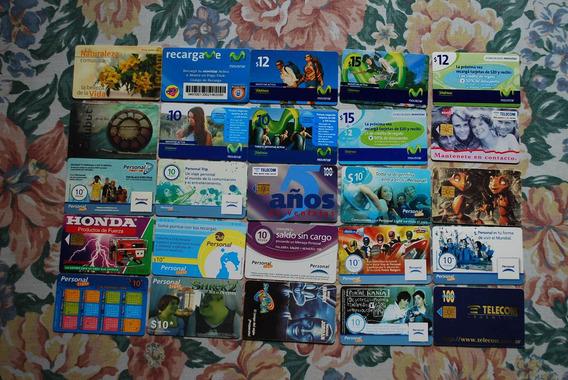 Tarjetas De Telefono De Coleccion Lote