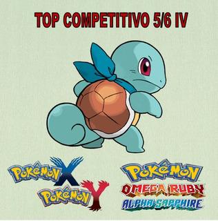 Pokemon Sun E Moon Competitivo Top Shiny 5/6 Iv