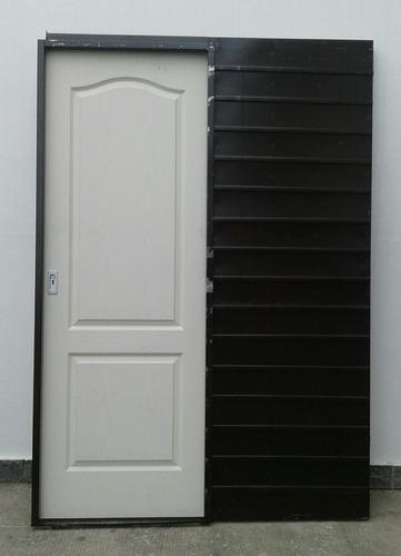 Puerta Corrediza Embutir Craftmaster Chapa 18 90x200x15