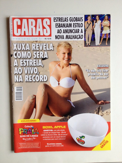 Revista Caras 1136 Xuxa Jesus Luz Milena Toscano 2015 D466