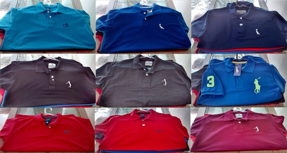 Lote De 10 Camisetas Gola Polo!!!!