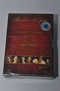 Romance De Época - Colección 6 Dvds - Imperdible!!!