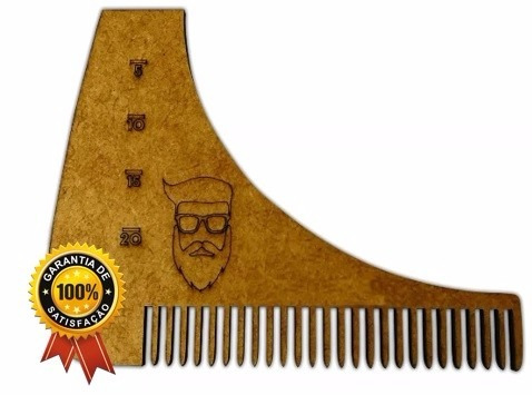 Alinhador E Pente Para Barbear